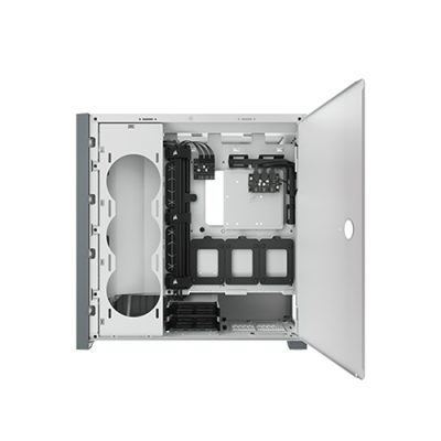 CORSAIR iCUE 5000X RGB Tempered Glass Mid-Tower ATX PC Case